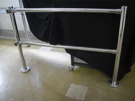 chrome banister chrome banister rail 28 images 63mm chrome handrail
