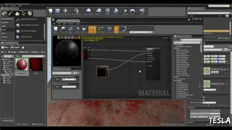 tutorial c ue4 unreal engine 4 tutorial decals free blood pack youtube