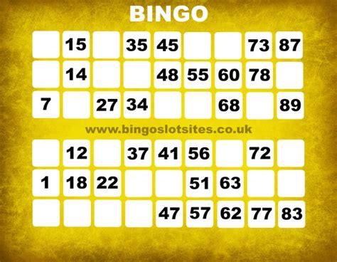 Free Bingo No Deposit No Card Details Win Real Money - no deposit bingo sites