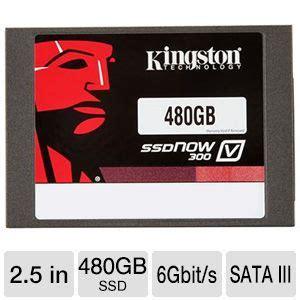 Kingstone Ssd Now V300 480gb Kingston Ssdnow V300 480gb Ssd 2 5 Form Factor Sata Iii