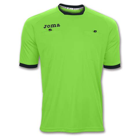 Tshirt Referee Hop016 t shirt referee s s green fluor joma