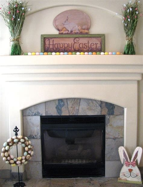 Easter Fireplace Decorations 20 easter fireplace mantel decorations godfather style