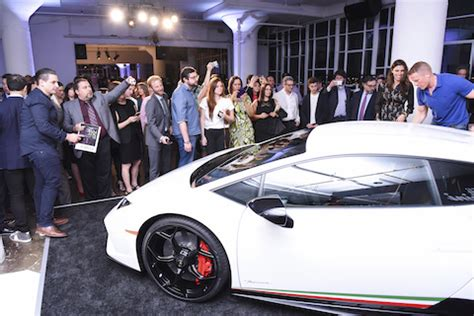 Lamborghini Dealership In New York Lamborghini Hurac 225 N Performante Makes American Debut