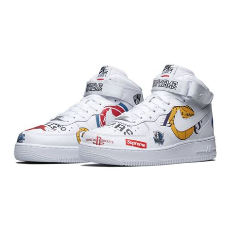 nike air 1 low supreme nike air 1 x supreme x nba af1 aq8017 100