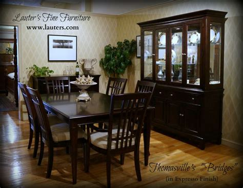 Second Dining Room Set by Thomasville S Quot Bridges Quot Dining Room Set 4 Photos This