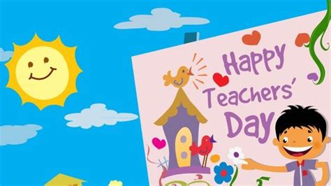 Happy Teachers Day Card Template by Teachers Day 2015 Best Messages Quotes Picture