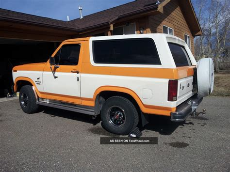 ford bronco 1980 1980 ford bronco 390 big block v8 4 spd 4x4 custom