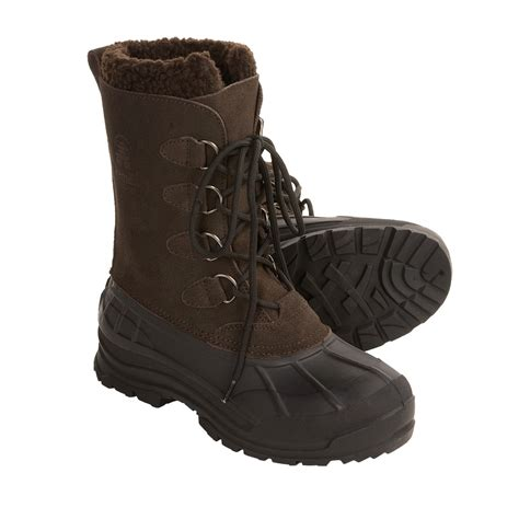 Kanik Mens kamik conquest winter pac boots for 2649t save 32