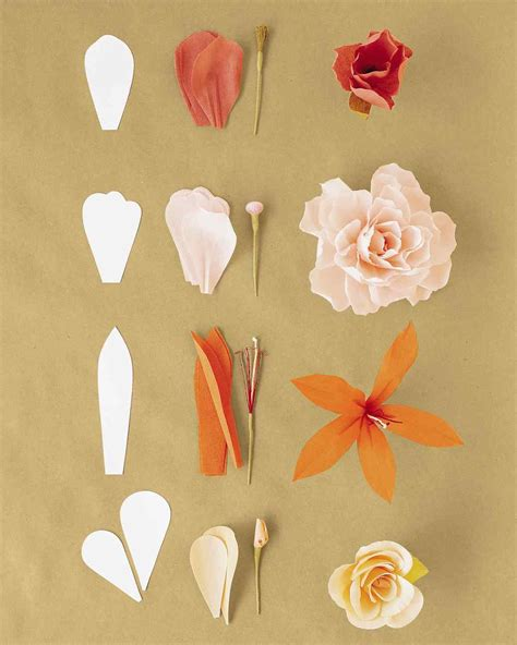 How To Make Handmade Paper With Flower Petals - how to make crepe paper flowers pink sunflowers crepe