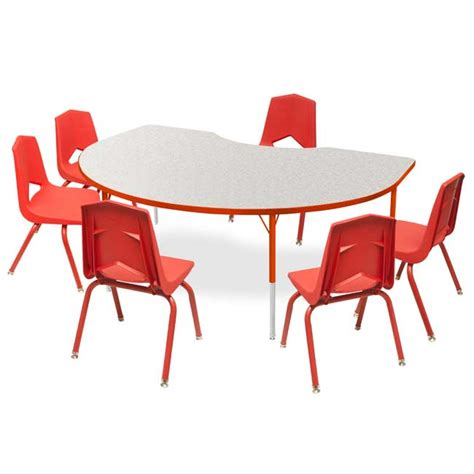 youth kidney activity table  chair package set