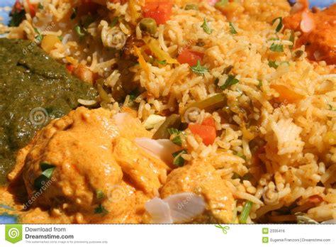 cucina indiana piatti tipici piatto indiano immagine stock libera da diritti immagine