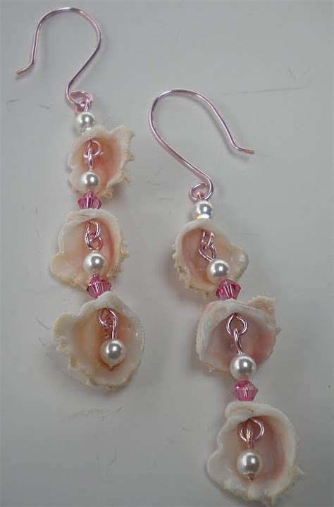 how to make jewelry from shells prim hill studio friday flickr inspiration sea
