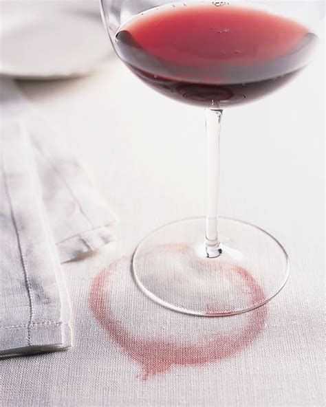 Wine Stain On by Removing A Wine Stain Random Household Tips