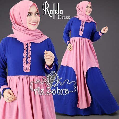 Aluna Setelan rafela dress baju muslim gamis terbaru model gamis