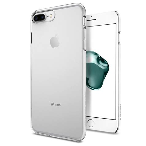 Original Spigen Thin Fit Iphone 7 Plus Clear spigen 174 thin fit 043cs20935 iphone 8 plus 7 plus clear spaceboy