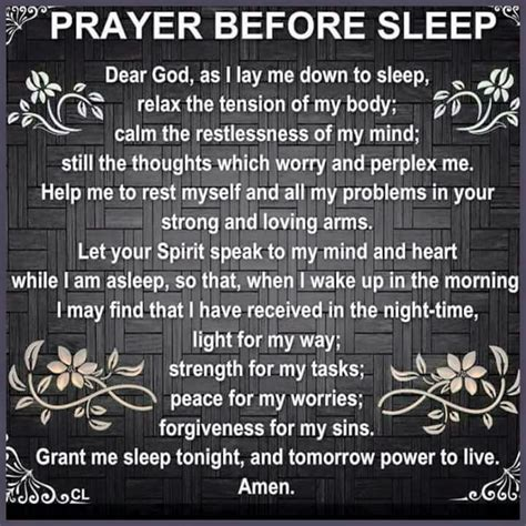 prayer before bed catholic nighttime prayer miracle morning affirmations stuff
