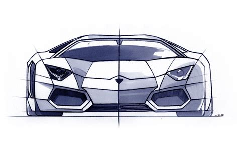 lamborghini aventador sketch filippo perini brand and design director lamborghini