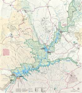 lake powell maps npmaps just free maps period