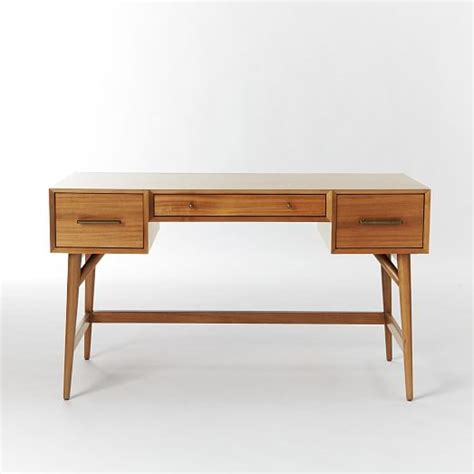 century furniture writing desk mid century desk acorn west elm