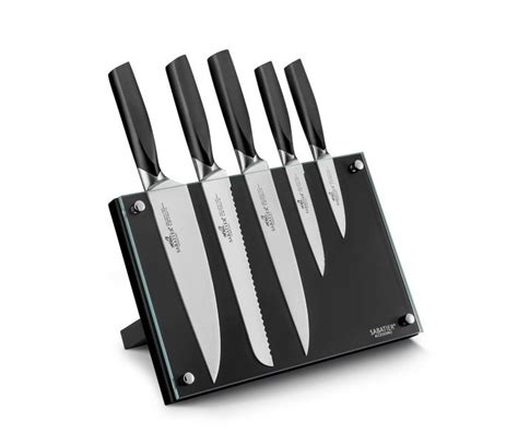 Pisau Dapur Kitchen Set Knife Motif Buah Sayur sabatier international denver knife block 5 knives