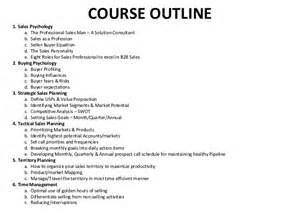 Sle Of Essay Outline by Trainer Sle Sales Course Outline