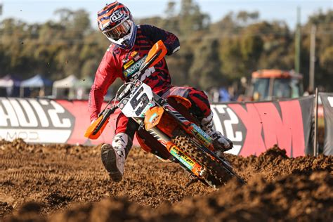 motocross racing 2 gibbs wins shepparton mx nationals round 7 mcnews com au