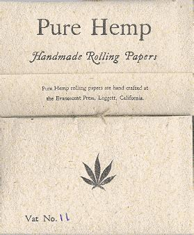 How To Make Hemp Paper - rolling papers hemp papers