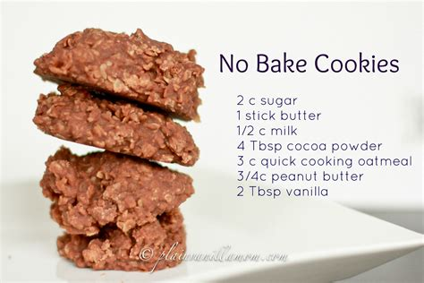 no bake energy cookies recipe dishmaps