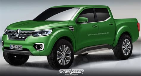 renault alaskan price will production renault alaskan pickup truck look like this