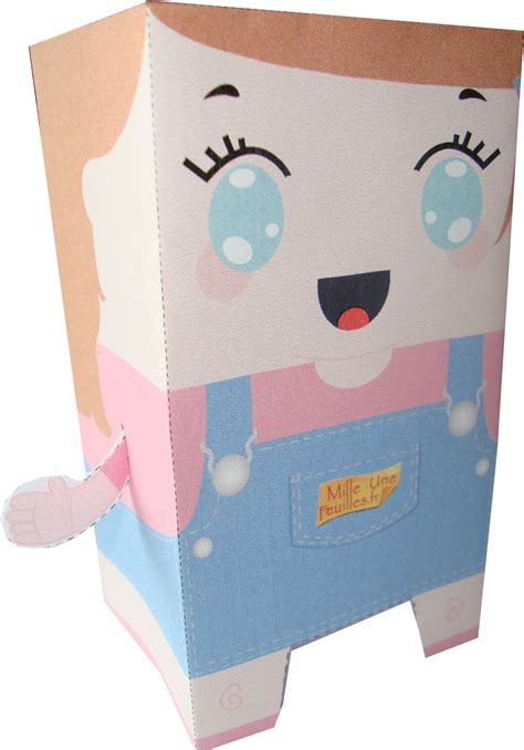 How To Make Paper Toys - paper cali papertoy