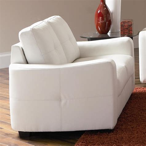 cheap white loveseat modern white leather loveseat awesome enright white