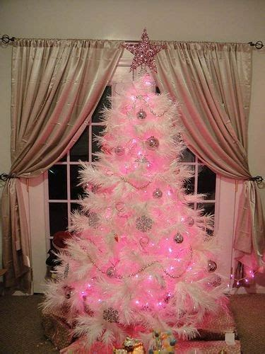 white tree with pink lights decor styles a white tree with pink