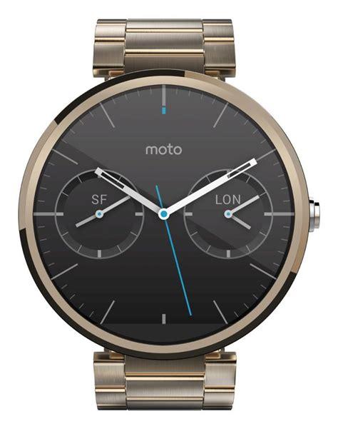 Smartwatch Moto 360 gold moto 360 smartwatch appears