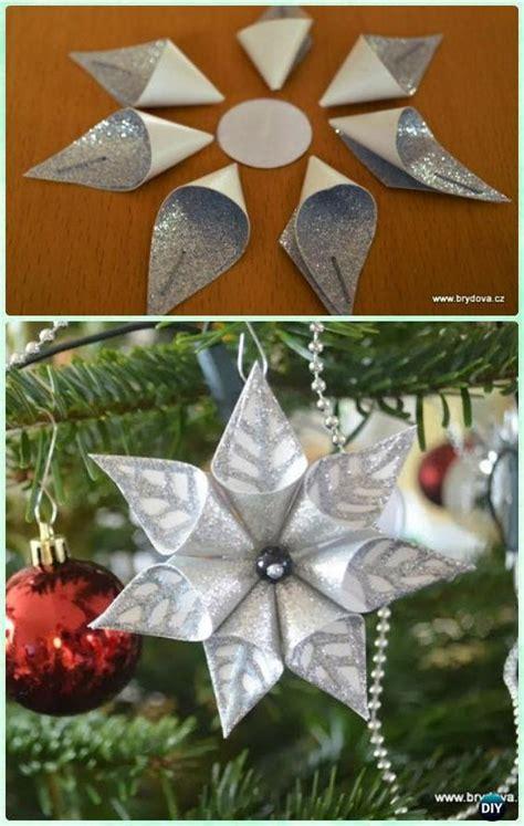 la guia definitiva  hacer flores de papel de navidad