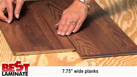 Cheap Laminate Wood Flooring With Attached Pad