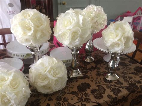 baptism floral centerpieces 109 best images about christening decorations on