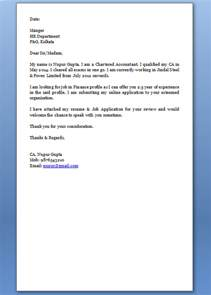 Production Support Cover Letter by Sle Cover Letter For Experience Holder In Production Support Domain