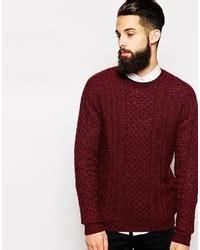 mens burgundy cable knit jumper mens burgundy cable knit jumper crochet and knit
