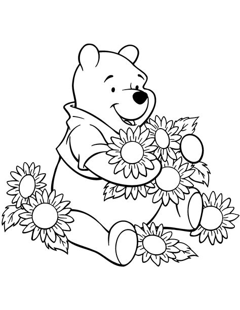 winnie pooh coloring pages coloring kids