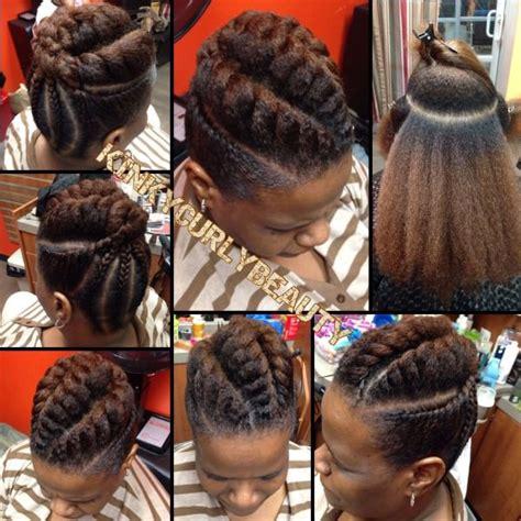 Black Hair Twist Updo Hairstyles by Flat Twist Updo Black Hair