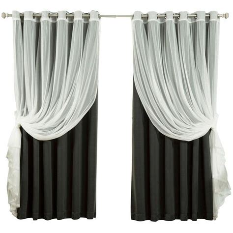 Black Lace Curtains Best 25 Black Sheer Curtains Ideas On Black Curtains Canopy And Canopy Bed Curtains
