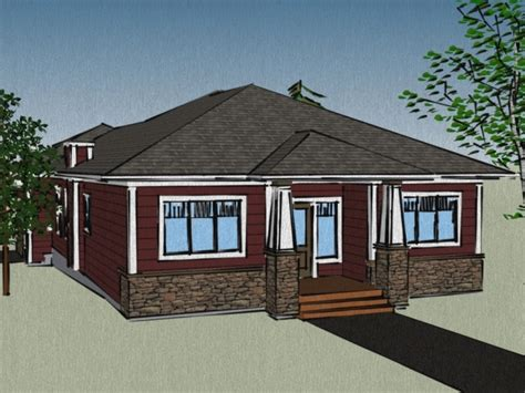 Cabin Plans With Garage by House Plans With Attached Garage Small Guest House Floor