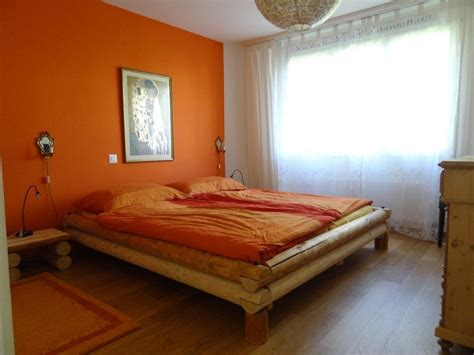 schlafzimmer orange erika