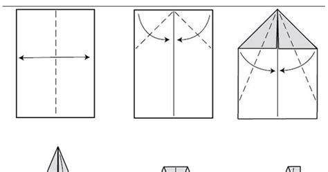 tutorial origami pesawat terbang conteng2kreatif 12 cara membuat kapal terbang kertas