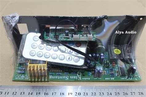 Power Lifier Kit Untuk Subwoofer 6 8 10 12 Inch Ready Input Mp3 subwoofer quot alya audio quot elektronik