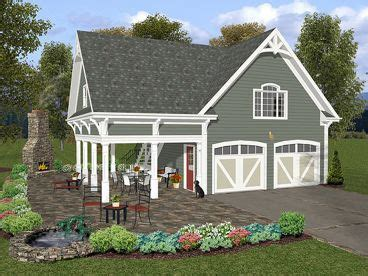 House Plans With Inlaw Suite On First Floor by Garage Plans With Loft The Garage Plan Shop