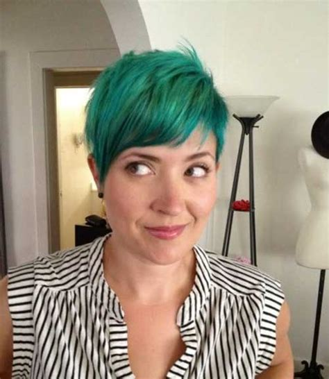short hairstyles with dye short hair with color 2014 2015 short hairstyles 2017