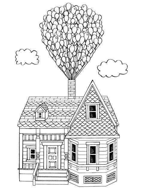 Coloring Page Up House by Bum There S Some Catching Up To Do