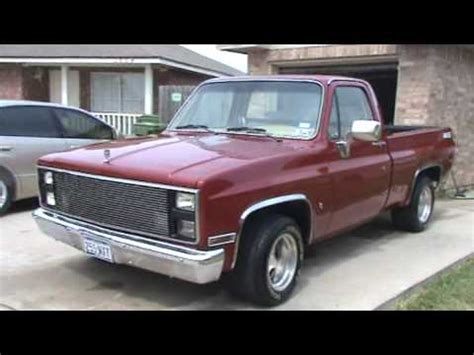 86 chevy 454 ss 500hp youtube