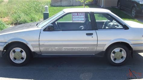 1985 Toyota Corolla Gts 1985 Toyota Corolla Sport Gts Coupe 2 Door 1 6l